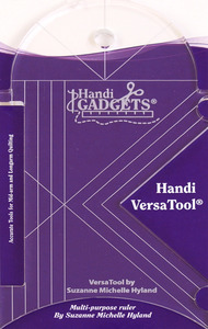 "Handi Quilter HG00419 Handi Versa Tool Ruler 1/4"" Thick for Ruler Foot"