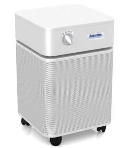 Austin Air HM405 HEPA Purifier Cleaner Allergy Machine, 1.3A, 3 Speed, 360° Intake, Military Carbon Cloth Filter, 1500SqFt, 45Lb