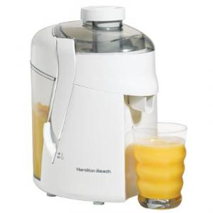 Hamilton Beach 67800 HealthSmart® Juice Extractor-White