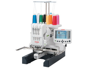 "Janome MB4S Big M Bobbin 4-Needle 7.9x9.5"" Embroidery Machine, 2 Control Panel +10Yr Parts Labor Warranty, OR 60Mo 0% No Interest Financing Code 460* Janome MB4, MB-4, elna 9900, 4 Needle, Micro Embroidery, Machine MB4, 650SPM, 7.9x9.5"" Hoop, 100 Designs, 3 Fonts, 3 Hoops, USB Stick, Card, BobbinWinder, 45 Lbs, 11 Freebies, janomemb-4machine"