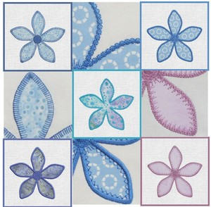 AccuQuilt MBME55334 GO! Fun Flower Embroidery Designs CD
