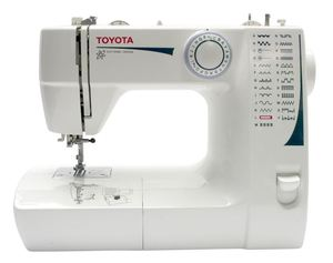 Toyota FSG325 25 Stitch Mechanical Sewing Machine, Heavy Duty Metal Construction, Bobbin Case, Shuttle Hook