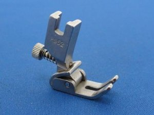 Superior S952 Adjustable Shirring Gathering Smocking Foot, High Shank Screw On