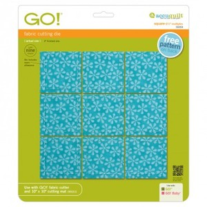 "AccuQuilt, GO!, 55059, Square, 2-1/2"", Multiple, building, block, quilt"