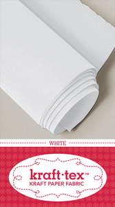 C&T Publishing CT20211 Kraft-Tex Paper Fabric White