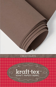 C&T Publishing CT20289 Kraft-Tex Paper Fabric Chocolate