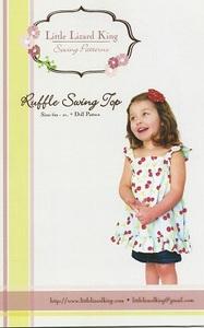Little Lizard King Swing Top LLK347 Pattern 6m-10yrs + Dolly Pattern