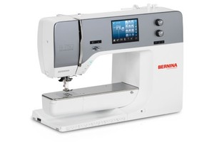 Bernina 770QE Quilters Edition Computer Sewing Machine 327Stitches, 50Quilting, Dual Feed, BSR, 4 Memories, Patchwork Foot, Optional Embroidery Module