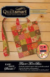 Quilt Smart QS10040 Tablet Tote Fun Pack Pattern