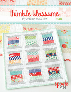 "Thimble Blossoms TB169 Spools 14"" x 16"" Mini Quilt Sewing Pattern"
