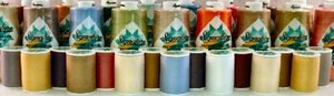 A&E Signature Cotton Quilting Thread Rack 450 spools at 700 Yards each 96 solid colors, 54 variegated, x 3 spools each, 40wt