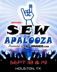 Sewapalooza Hands On Sewing Event, September 18-19, 2015 Houston, Texas