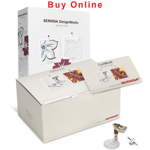 Bernina CWS Cutwork Suite: Cutwork Needle, Software Code, DesignWorks