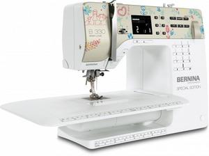 60175: Bernina 330 40/97 Stitch Computer Sewing Machine, Buttonhole, Font