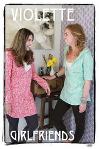 Violette Fields VWD407 Girlfriends Shirt Pattern