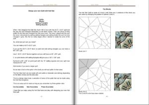 Sew Steady WA-KALIBOOK Westalee Kali Star Quilt Variations 70 Page Book