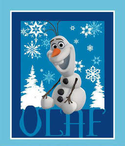 Disney Frozen Olaf Fabric Panel by the Yard 535521600715 Springs Mills
