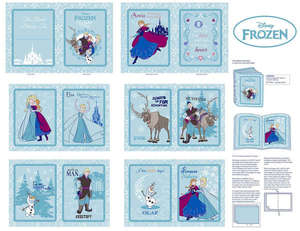 Disney Frozen Ana's Friends Softbook Fabric Frame Panels by the Yard 532481600710 Springs Mills