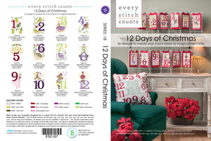 Every Stitch Counts ESC-Q7 12 Days of Christmas Multiformat Embroidery Design CD