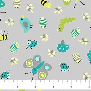 Northcott 6935-91 Whoo Loves You cotton fabric by the yard