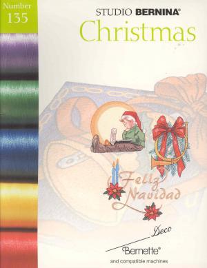 Bernina Deco 135 Christmas Embroidery Card