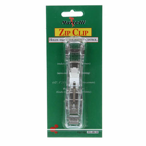 Martelli ZG-08-M Zip Clips Medium for Quilt Edge Holding Basting
