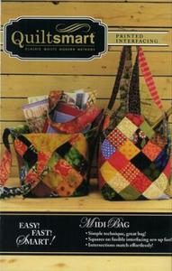 Quiltsmart QS10038 Fun Pack Midi Bag Pattern