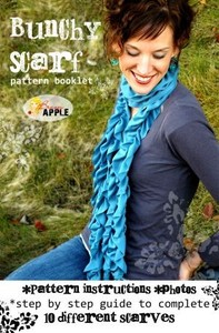Brassy Apple BA003 Bunchy Scarf Pattern