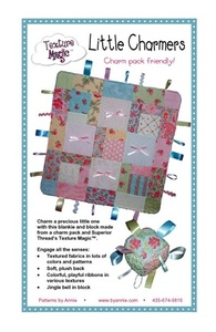 Annie PBA115 Little Charmers Blankie and Block Pattern