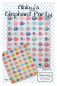 Ribbon Candy RCQ588 Abby's Elephant Party Pattern