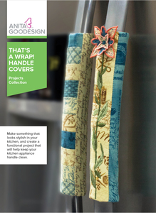 Anita Goodesign PROJ89 That's A Wrap Handle Covers Project Collection