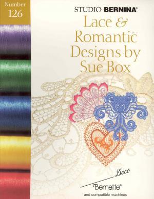 Bernina Deco 126 Lace & Romantic Designs by Sue Box Embroidery Card