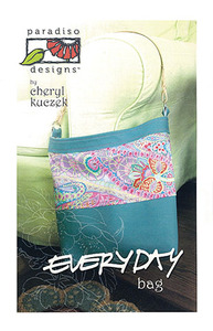 Paradiso Designs 93-3367 Everyday Bag Sewing Pattern by Cheryl Kuczek