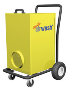 Amaircare 6000V Airwash Industrial HEPA Air Purifier 92Lb+Rolling Cart