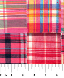 "Fabric Finders 15 Yd Bolt 10.67 A Yd Cotton Patchwork 16 Multi Colored 100% 45"" Pima Cotton Fabric"