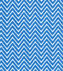 Fabric Finders 15 Yd Bolt 9.33 A Yd 1358 Turquoise Chevron 100% Pima Cotton Fabric 60 inch