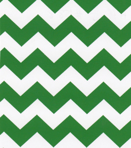 Fabric Finders 15 Yd Bolt 9.33 A Yd 1588 Green Chevron 100% Pima Cotton Fabric 60 inch