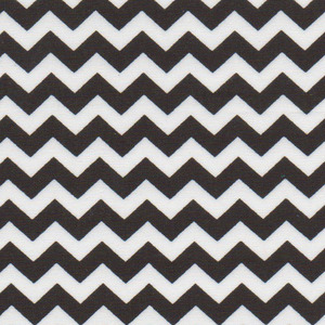 Fabric Finders 15 Yd Bolt 9.33 A Yd 1402 Black Chevron 100% Pima Cotton Fabric 60 inch
