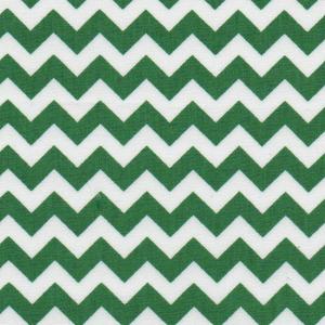 Fabric Finders 15 Yd Bolt 9.33 A Yd 1407 Kelly Chevron 100% Pima Cotton Fabric 60 inch