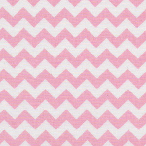 Fabric Finders 15 Yd Bolt 9.33 A Yd 1402-1 Pink Chevron 100% Pima Cotton Fabric 60 inch