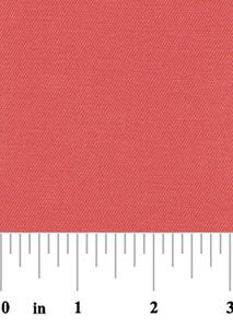 Fabric Finders 15 Yd Bolt 9.33 A Yd Coral Twill 100% Cotton 58 inch