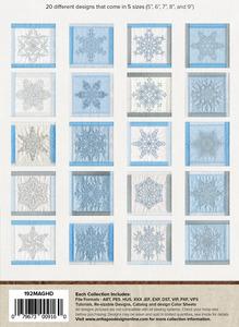 Anita Goodesign 192MAGHD Snowflakes of Rohan Mini Collection