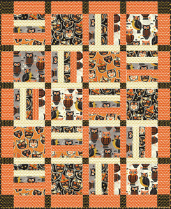 Spooktacular Eve Quilt kit by Anna Griffin