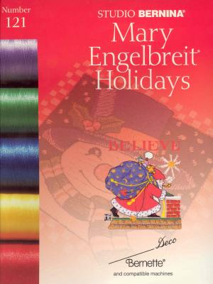 Bernina Deco 121 Mary Englebreit Holidays Embroidery Card