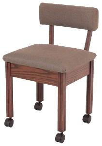 Delta Sewing 204 Cherry Sewing Chair