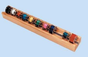 Blue Feather BF-BH Grabbobbin Magnetic 16 Bobbins Holder,
