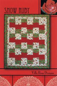 Snow Ruby VRD8505 Villa Rosa Design Pattern Card