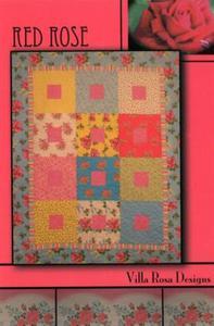 Red Rose VRD8383 Villa Rosa Design Pattern Card