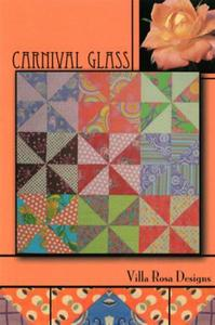 Carnival Glass VRD8376 Villa Rosa Design Pattern Card