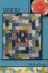 Show Biz VRD3775 Villa Rosa Design Pattern Card